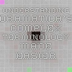 Understanding Dramatica's Complex Terminology Made Easier