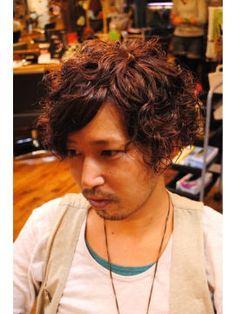 メンズカット画像集【ソフトアフロ】 - NAVER まとめ