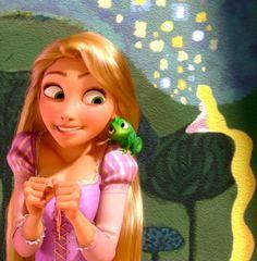 Rapunzel and Pascal Princesa Ariel Disney, Disney Princess Rapunzel, Tangled Rapunzel, Disney Tangled, Princess Art, Princesas Disney, Disney Magic, Disney Art, Disney Pixar