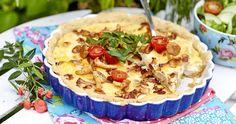 Kebab Wrap, Swedish Style, Swedish Recipes, My Plate, Dessert Recipes, Desserts, Summer Recipes, Betta, Quiche