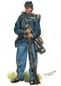 New York Infantry Soldier