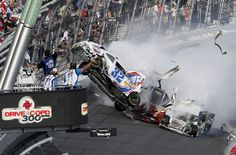 Worst Sprint Car Crashes | kyle larson s car 32 gets airborne during a multi car wreck on the ...