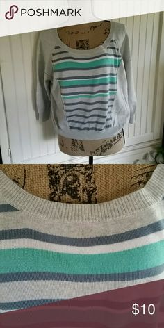 American rags sweater This sweater has mid length sleeves American Rag Sweaters Crew & Scoop Necks