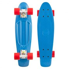 """Penny cruiser complet 22"""" blue white red skateboard en plastique 110,00 € #penny #pennyaustralia #cruiser #plasicskate #skateplastic #skatevintage #skate #skateboard #skateboarding #streetshop #skateshop @PLAY Skateshop"""