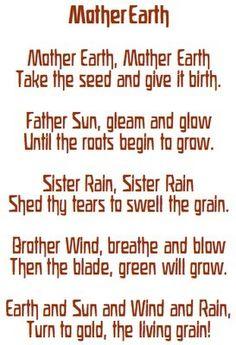 a planting chant