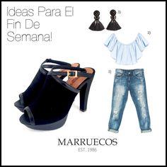 ¡NUEVOS! Zuecos Lourdes.Te damos ideas para armar tu outfit perfecto para el fin de semana con los Zuecos Laurdes de MARRUECOS. #marruecos1986 #zapatos #zuecos #hechosamano #purocuero #shoeaddict #shoes #mules #heels #handmade #weekend #findesemana #realleather #hechoencolombia #madeincolombia #fashion #trendy #moda