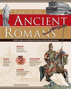 Tools of the Ancient Romans: A Kid's Guide to the History and Science of Life in Ancient Rome explores the history and science of the most powerful empire the world has ever known. Through biographical sidebars, interesting facts, anecdotes, and 15 hands-on activities that put kids in ancient Roman shoes, readers will learn about Roman innovations and ideas of government, science, religion, sport, and warfare that have shaped world history and our own world view.