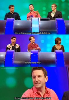 British Sitcoms, British Comedy, British Things, British People, You Funny, Funny Guys, Funny Stuff, Lee Mack, Mock The Week