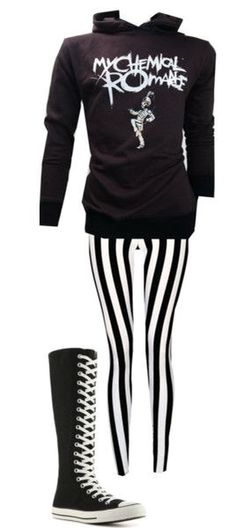 Emo style / outfit / my chemical romance