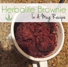 Just because you are trying to lose weight doesn't mean you can have dessert right? I went to the drawing board to see what I could come up with. After several attempts I finally figured it out!   https://www.goherbalife.com/valeriewillis