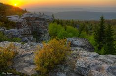 Dolly Sods Sunrise - Dolly Sods Wilderness Area, West Virginia.