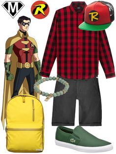 Get The Look Robin Jason Todd