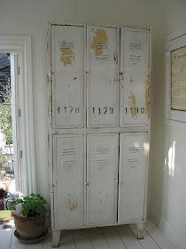 Old lockers are so pretty