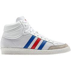 Hommes Chaussures Americana Hi 88, running white / vivid red / true blue, pdp