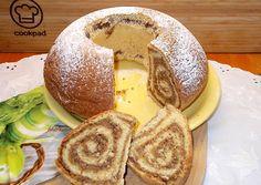 Diós koszorú   Fehér Katica receptje- Cookpad receptek Camembert Cheese, Breakfast, Mint, Dios, Morning Coffee
