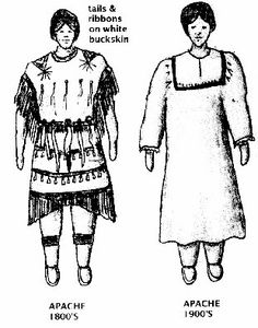 Lipan Apache Clothing | clothing the apache indian clothing consisted of a white buckskin