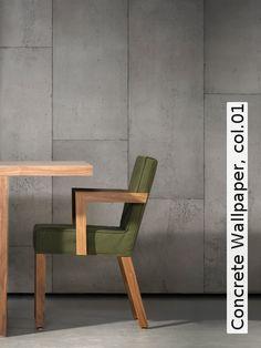 Tapete: Concrete Wallpaper, col.01 - TapetenAgentur