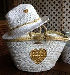 Crochet hat e bag Summer Handbags, Summer Bags, Ibiza, Clutch Bag, Tote Bag, Straw Tote, Boho Bags, Beach Accessories, Basket Bag