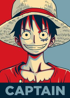 Luffy ~ one piece Anime One Piece, One Piece Luffy, Manga Anime, Anime Art, Manga Girl, Anime Girls, Monkey D. Ruffy, Poster Retro, One Piece Wallpaper Iphone