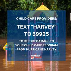 Recovery: Hurricane Harvey - Child Care Aware of America Child Care Aware, Texas Hurricane, Texas Governor, Disaster Preparedness, Safety Tips, Childcare, Public, How To Apply, America
