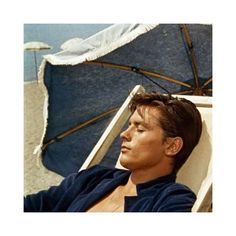 """#sunday #mood  Actor Alain Delon in """"Plein Soleil"""" directed by René Clement  in 1960.  #movie #film #french #france #alaindelon #sundayfunday #instamood #inspirational #inspiration #sun #beach #actor #moodoftheday #sundaynight #reneclement"""