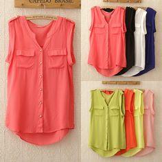 1143 2014 новые женщин блузки v  шея blusas горячая продажа рукавов футболки карман летом вершины женщин женской одежды, принадлежащий катег...