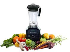 Blender By Cleanblend: Commercial Blender, Mixer with a 64 ounce BPA Free Container, Stainless steel 8 blade assembly, Includes Tamper, Nut Milk B Best Smoothie Blender, Smoothie Mixer, Good Smoothies, Fruit Smoothies, What Is A Smoothie, Best Vitamix, Vitamix Blender, Fruit And Vegetable Juicer, Centrifugal Juicer