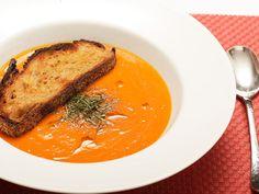 Quick, creamy, vegan, tomato soup