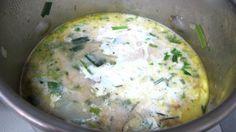 Soupe vitelottes et poireaux - cliquez sur la photo pour l'agrandir
