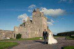 A Scottish Castle Wedding at Ackergill Tower in the Spring