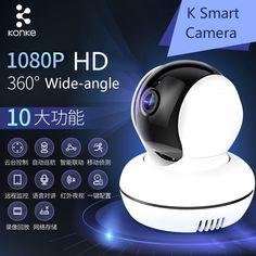 56.99$  Watch now - http://alierg.shopchina.info/go.php?t=32797379656 - 2017 Konke IP Camera WiFi Wireless Smart Security Camera Audio Record Surveillance Baby Monitor CCTV Camera Automation Modules 56.99$ #magazine