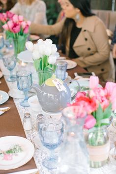 Beautiful Bridal Shower Tea Party Featuring Beau-coup Products -Beau-coup Blog