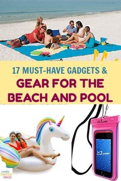 Get a head start on planning your ultimate summer of fun in the sun by stocking up on these essential gadgets & gear for the beach or pool. Check them out! Natural Parenting, Gentle Parenting, Parenting Hacks, Portable Air Pump, Must Have Gadgets, Beach Gear, Attachment Parenting, Beach Pool, Head Start