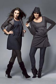 Look féminin en duo, 3 suisses - Mode spécial rondes : 10 looks à adopter - Femme Actuelle