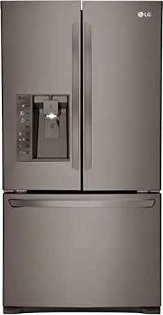 Image result for LG black stainless steel appliances