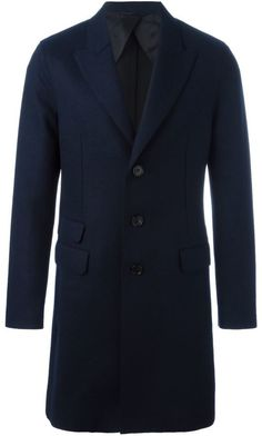 You'll find the perfect men's single breasted coat at Farfetch. Search from over 2000 designers for all the latest in men's single breasted trench coats Mens Overcoat, Neil Barrett, Midnight Blue, Single Breasted, Wool Blend, Suit Jacket, Mens Fashion, Stylish, Sleeves