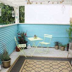 Corrugated Metal Design Ideas, Pictures, Remodel, and Decor