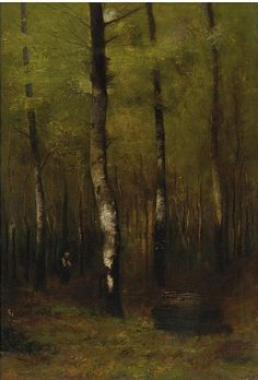 Buy online, view images and see past prices for - Laszlo Mednyanszky , Hungarian woodland oil on canvas. Invaluable is the world's largest marketplace for art, antiques, and collectibles. European Paintings, Antique Paint, Art World, Impressionism, Landscape Paintings, Color Mixing, Oil On Canvas, Woodland, Modern Art