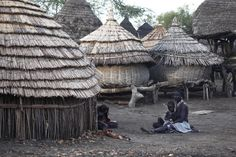 Toposa village - Toposa people - South Sudan. Photo: Steve Evans