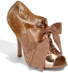 Badgley Mischka Bootie Not sure why i love these but its like a old Victorian style!! Love it!