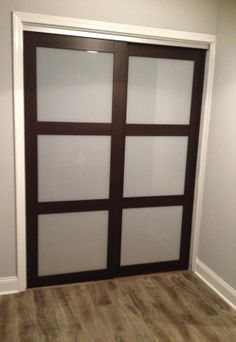 sliding doors from Home Depot