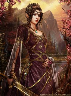 Daughter of the Forests by =keelerleah on deviantART
