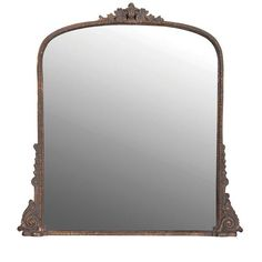 Grand mirror with beautiful fine antique style detailing in this mirror, makes it an ideal substitute for a period mirror. Ideal for over the fireplace or ...