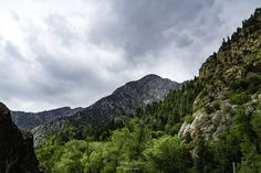 Storm over Big Cottonwood Canyon by Marianne Clement on 500px