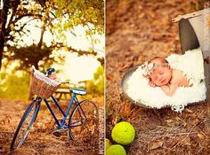 This on-the-go gal: | 29 Newborns Who Really Nailed Their First Photo Shoot
