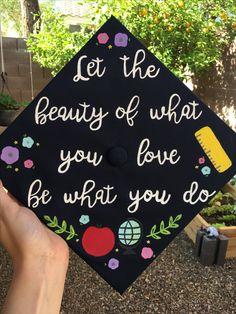 Teacher graduation cap