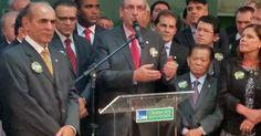 Eduardo Cunha oficializa candidatura à presidência da Câmara