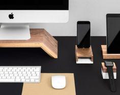 Última pantalla / soporte para IMac teclado y ratón por StudioHaft
