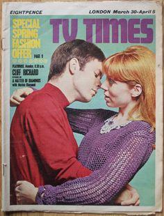 Cliff Richard and Marian Diamond in A Matter of Diamonds from the ITV Playhouse series. ATV (UK), 1968