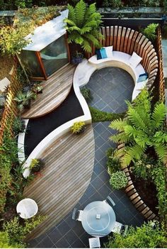 Small backyard design